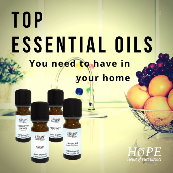 Top Essential Oils You Need To Have In Your Home