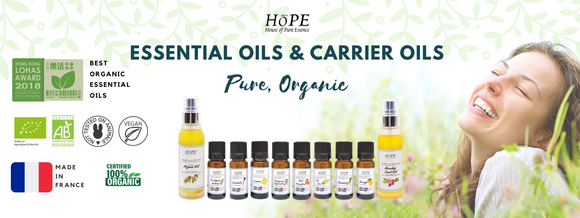 100% Organic, Pure Essential Oils