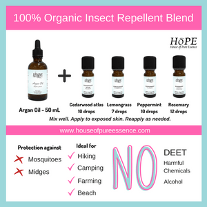 Insect Repellent Kit - 100% Organic - House of Pure Essence