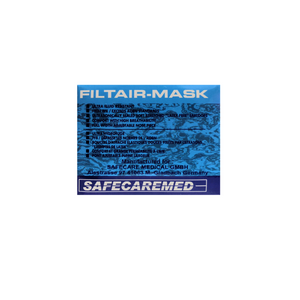 Filtair 3-ply medical face mask. BFE99. CE/FDA. - House of Pure Essence