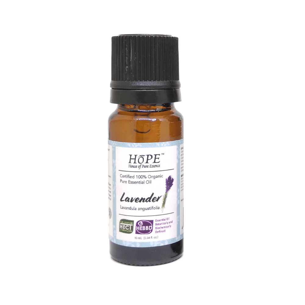 100% Organic Lavender (True) Essential Oil, Pure, - House of Pure Essence