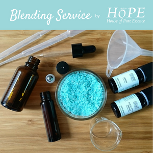 Blending Service by HoPE House of Pure Essence (6-10 ingredients) - House of Pure Essence