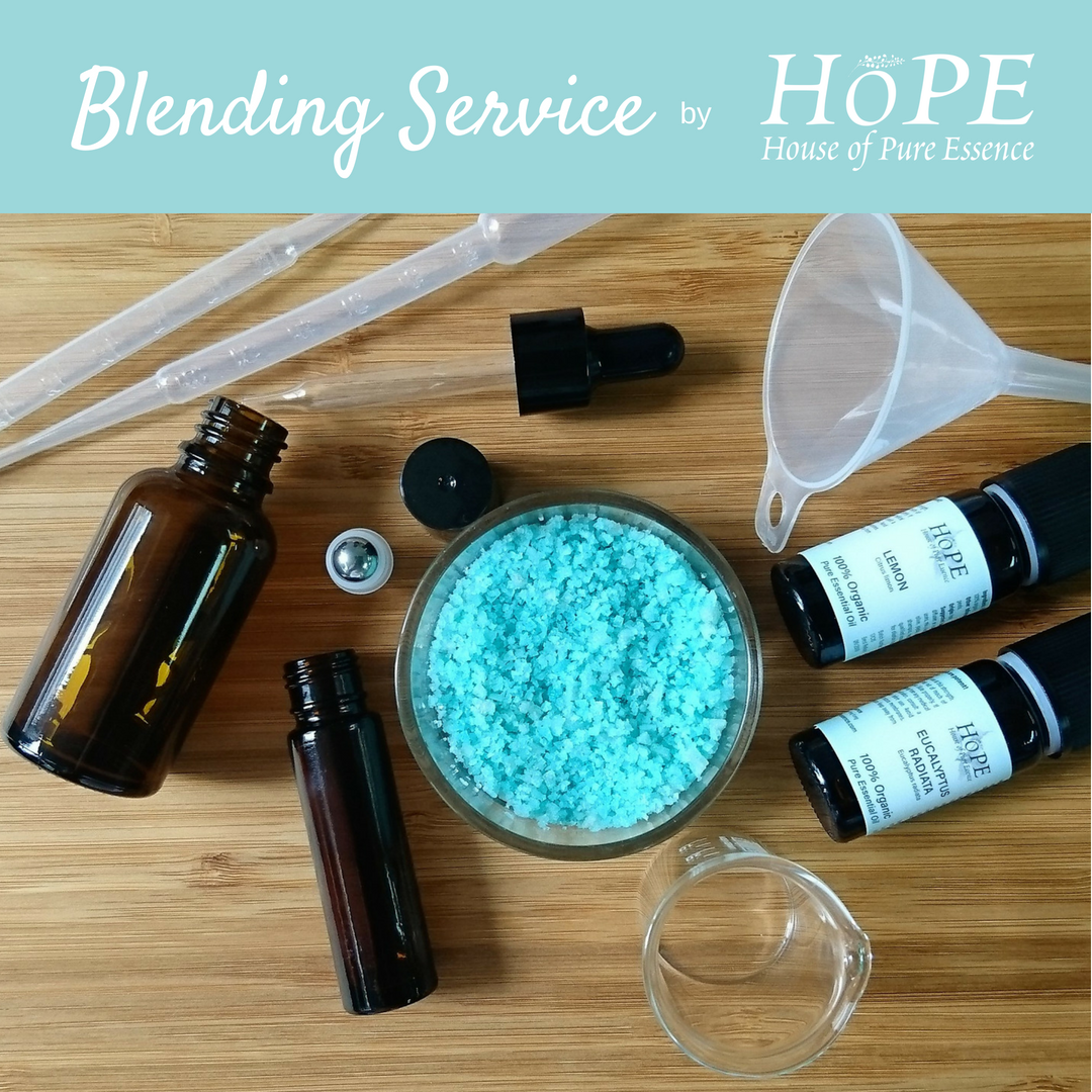 Blending Service by HoPE House of Pure Essence (up to 5 ingredients) - House of Pure Essence