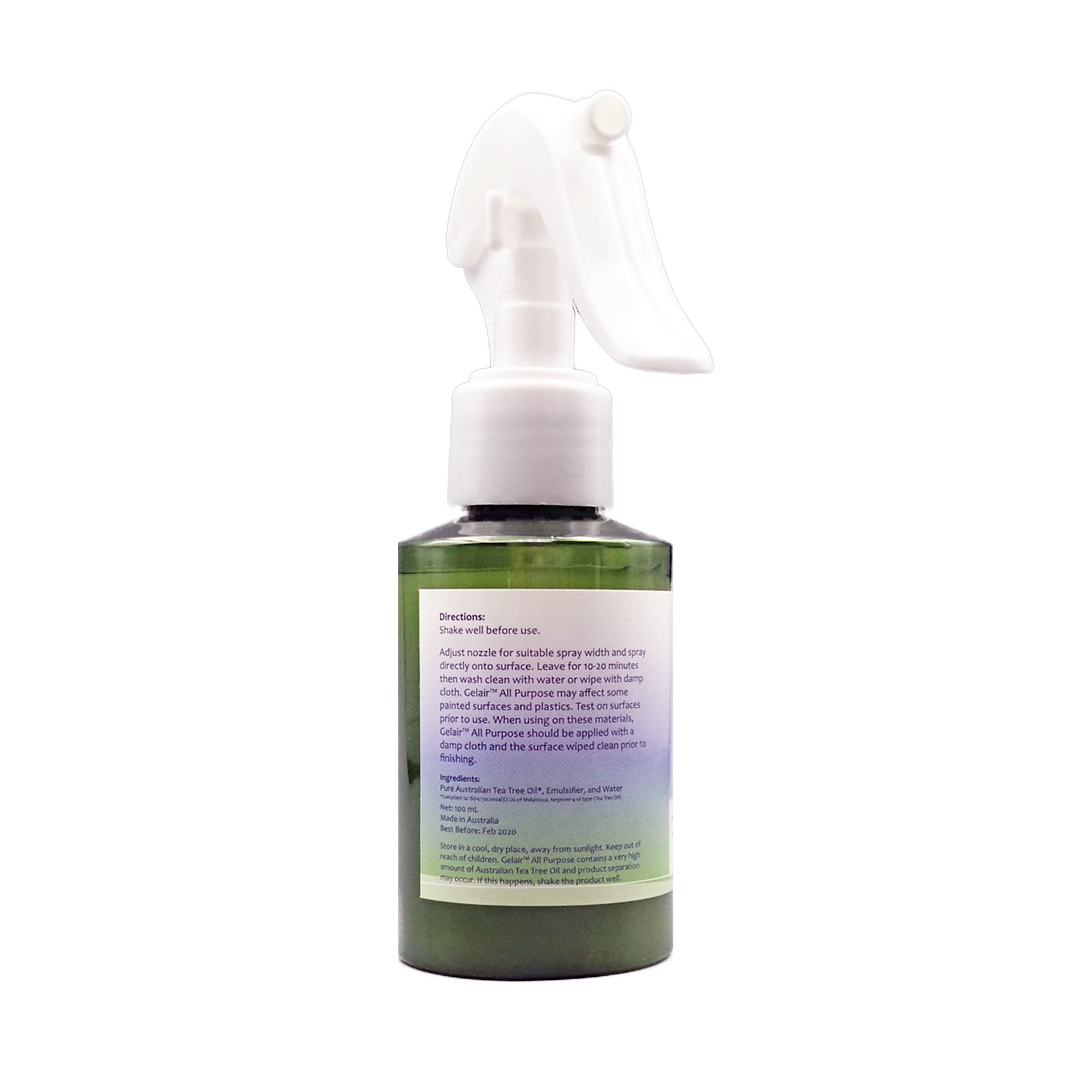 Gelair™ All Purpose Tea Tree Oil Spray for Surfaces, Tile Grout, and Silicone - House of Pure Essence