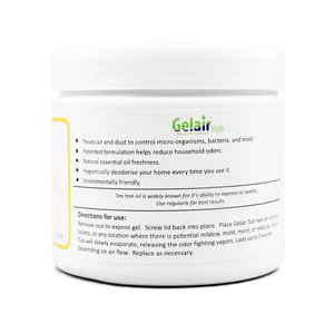 Gelair™ Tub - Tea Tree Oil for Bathrooms, Toilets, Wardrobe - House of Pure Essence