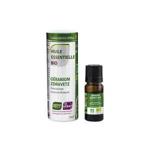 ORGANIC ZDRAVETZ GERANIUM ESSENTIAL OIL 10ML