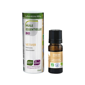 ORGANIC VETIVER ESSENTIAL OIL 10ML