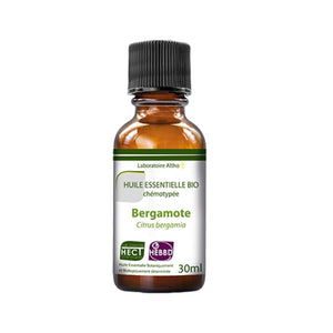 100% Organic Bergamot (Citrus bergamia) Essential Oil, 30 mL