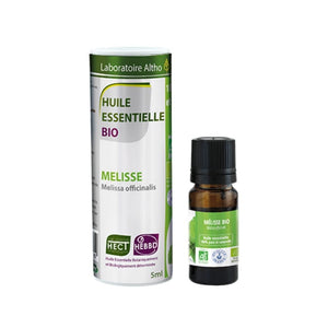 100% Organic Melissa (Melissa officinalis) Essential Oil, 5 mL