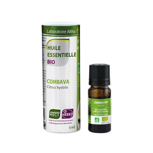100% Organic Combava (Citrus hystrix) Essential Oil, 5 mL