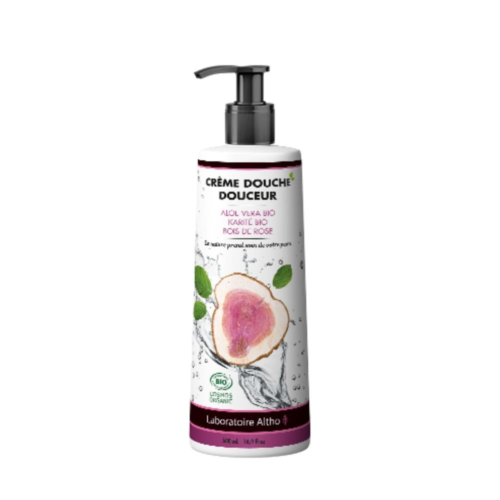 100% Organic Gentle Shower Cream - Sulfate Free, 500 mL