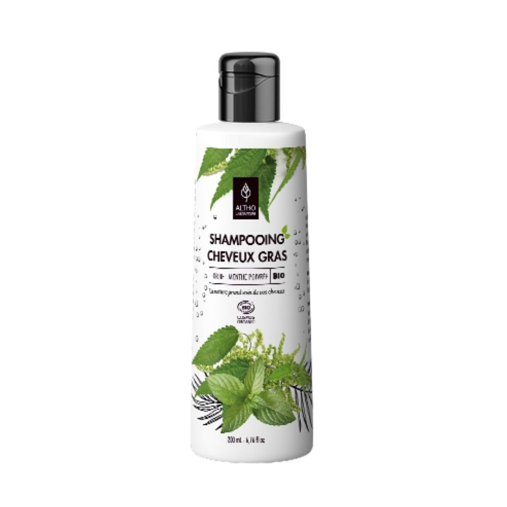 100% Organic Oily Hair Shampoo, 200 mL