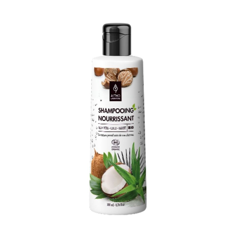 100% Organic Nourishing Shampoo, 200 mL