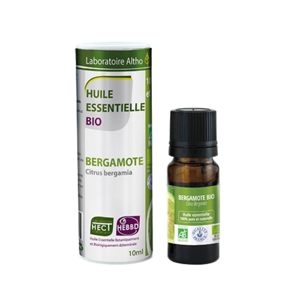 ORGANIC BERGAMOT ESSENTIAL OIL 10 ML