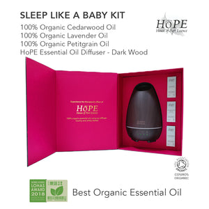 Sleep Like a Baby Kit (Organic Essential Oils + Diffuser Gift Set) - House of Pure Essence