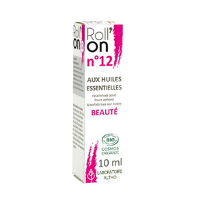 100% Organic Roll'On N ° 12 Beauty, 10 mL