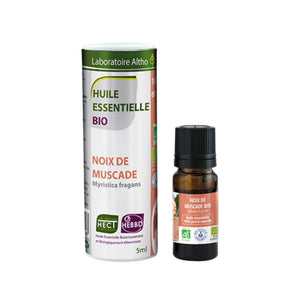 100% Organic Nutmeg (Myristica fragrans) Essential Oil, 5mL