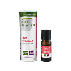 Damask Rose (Rosa damascena) Essential Oil, 5 mL