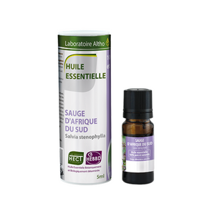 100% Organic South African Sage (Salvia stenophylla) Essential Oil, 5 mL