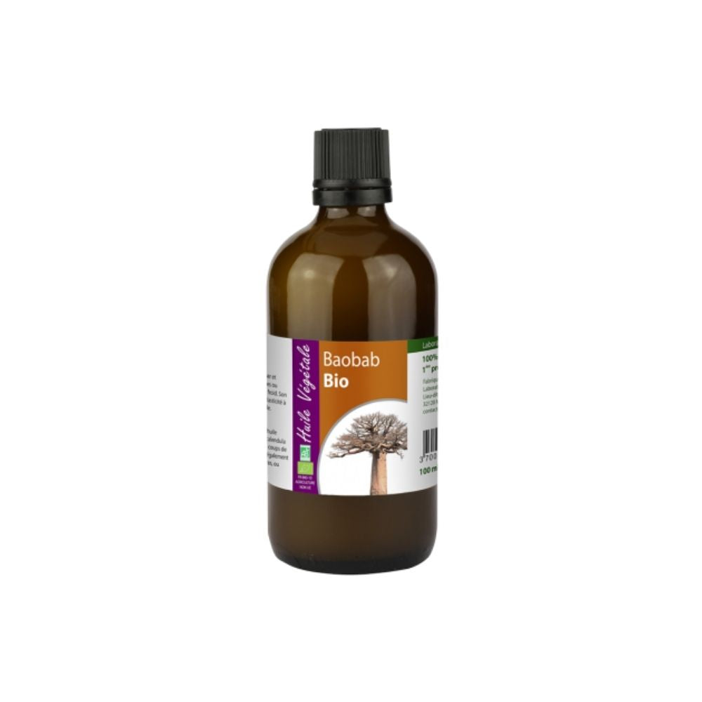 100% Organic Baobab (Adansonia digitata) Oil, 100 mL