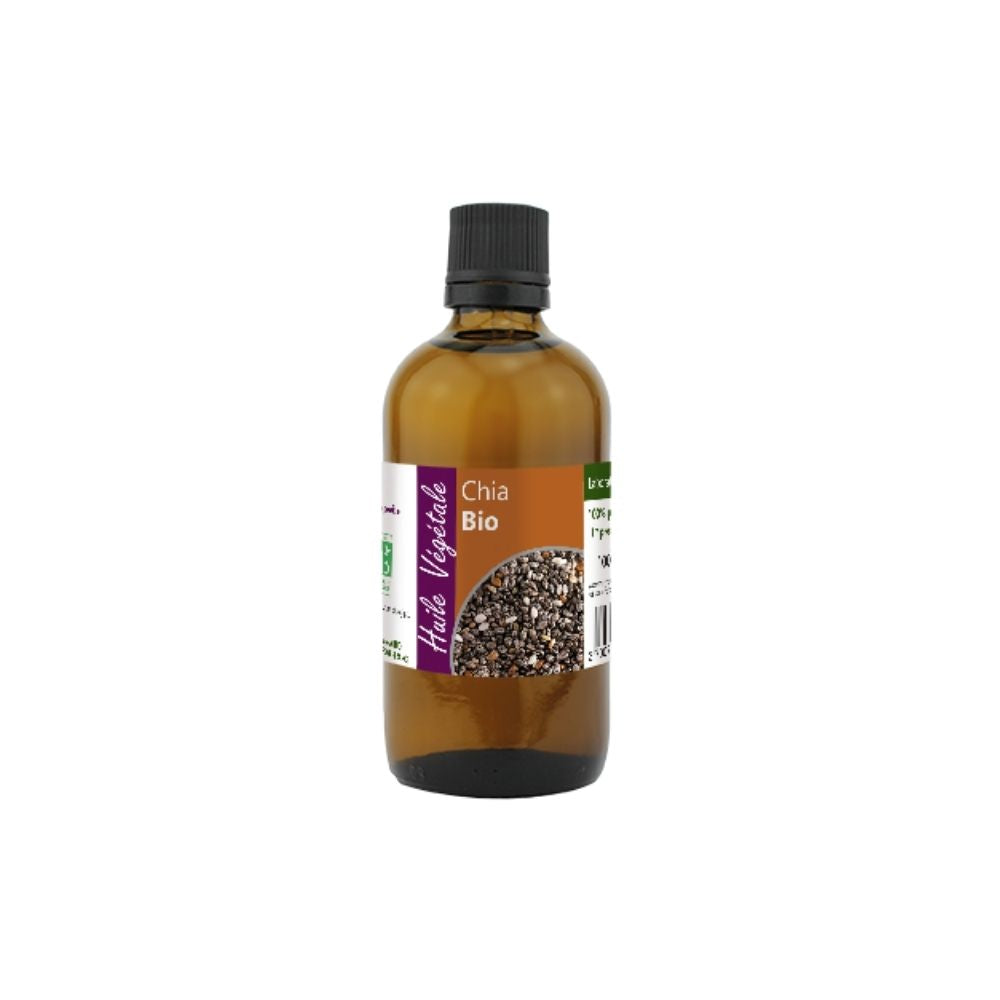 100% Organic Chia (Salvia hispanica) Oil, 100 mL