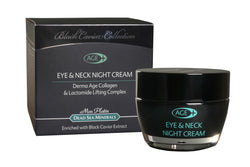 Eye & Neck Night Cream with Black Caviar