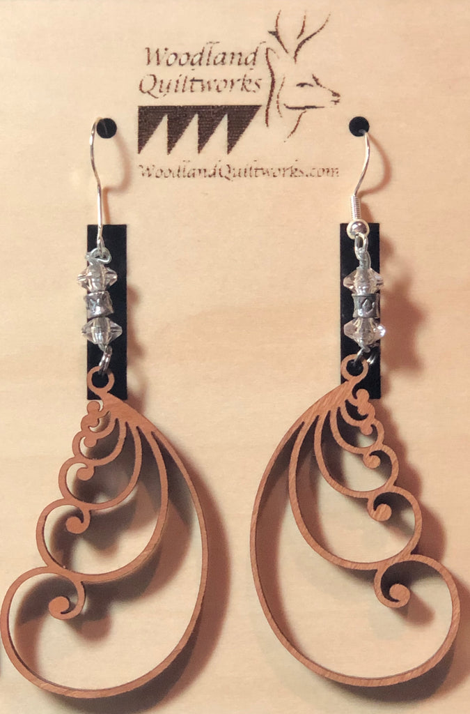 Feather Earrings 20-10001
