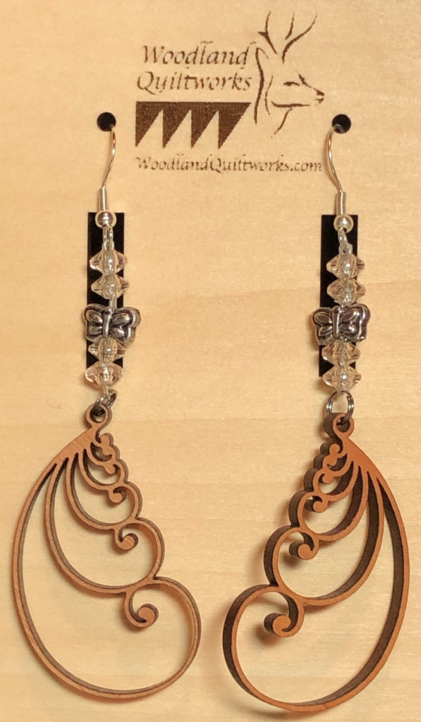 Feather Earrings 20-10006