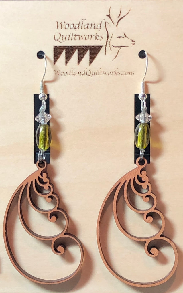 Feather Earrings 20-10009