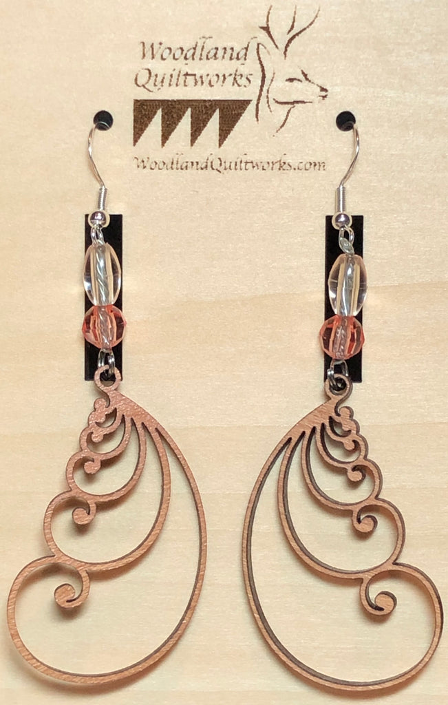 Feather Dangle Earrings 20-10016