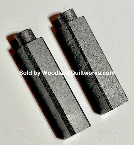 Carbon Motor Brushes (2) 4x4x15mm - Singer BT and BU 7, Older Singer Models. - Woodland Quiltworks, LLC