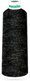 Madeira Burmilana Wool #12 Thread : Color 813-3352 Black Melange - Woodland Quiltworks, LLC