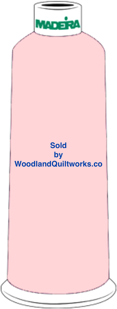 Madeira Burmilana Wool #12 Thread : Color 813-3420 Pink - Woodland Quiltworks, LLC