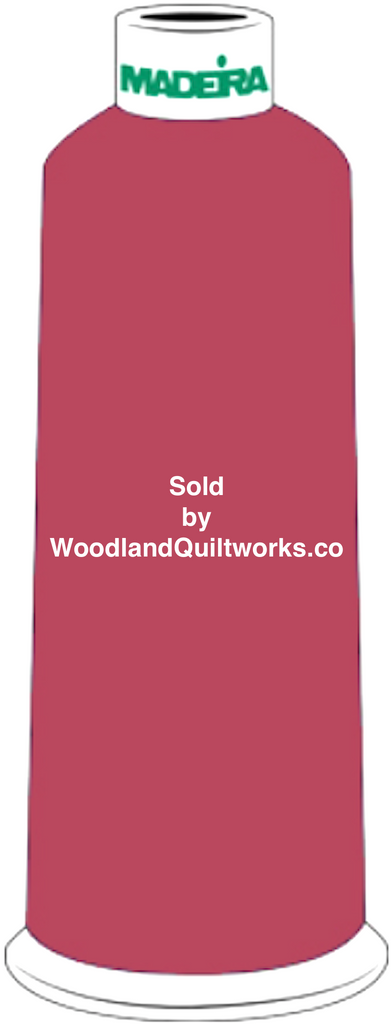 Madeira Burmilana Wool #12 Thread : Color 813-3422 Purple Pink - Woodland Quiltworks, LLC