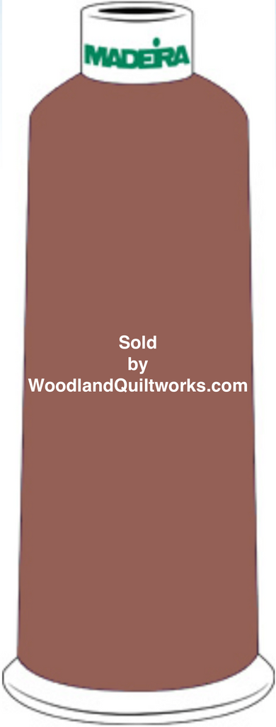 Madeira Burmilana Wool #12 Thread : Color 813-3441 Brown - Woodland Quiltworks, LLC