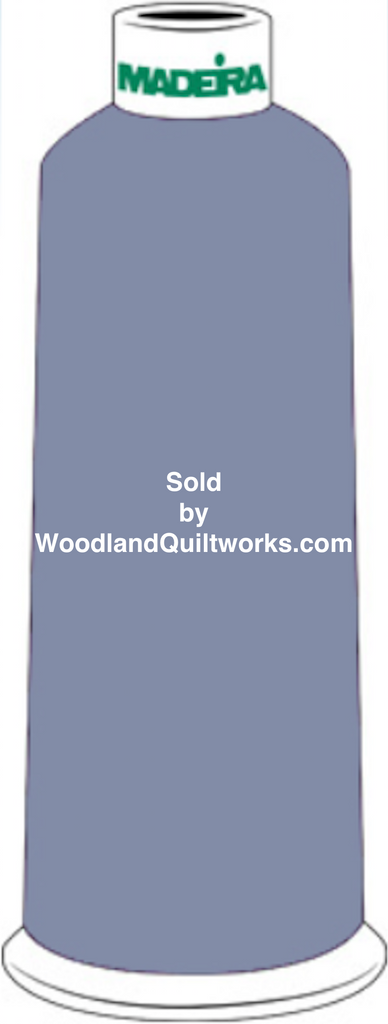Madeira Burmilana Wool #12 Thread : Color 813-3450 Blue Green - Woodland Quiltworks, LLC
