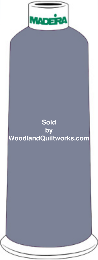 Madeira Burmilana Wool #12 Thread : Color 813-3460 Blue Green - Woodland Quiltworks, LLC