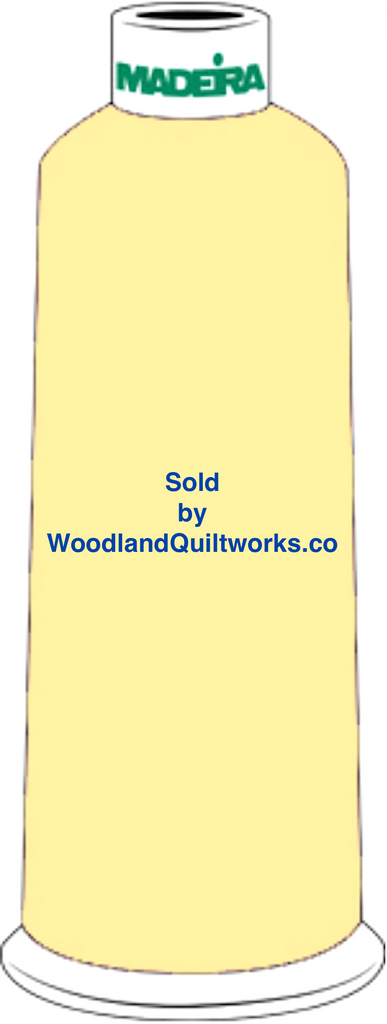Madeira Burmilana Wool #12 Thread : Color 813-3473 Yellow Gold - Woodland Quiltworks, LLC