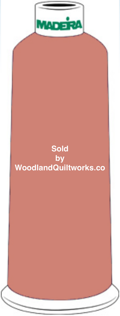 Madeira Burmilana Wool #12 Thread : Color 813-3477 Brown - Woodland Quiltworks, LLC