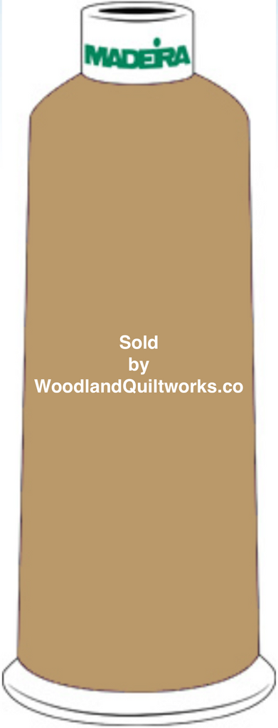 Madeira Burmilana Wool #12 Thread : Color 813-3490 Green Gold - Woodland Quiltworks, LLC