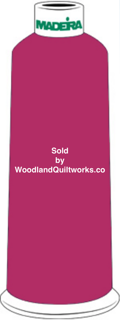 Madeira Burmilana Wool #12 Thread : Color 813-3491 Red Purple - Woodland Quiltworks, LLC