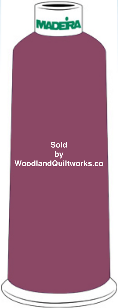 Madeira Burmilana Wool #12 Thread : Color 813-3492 Red Purple - Woodland Quiltworks, LLC