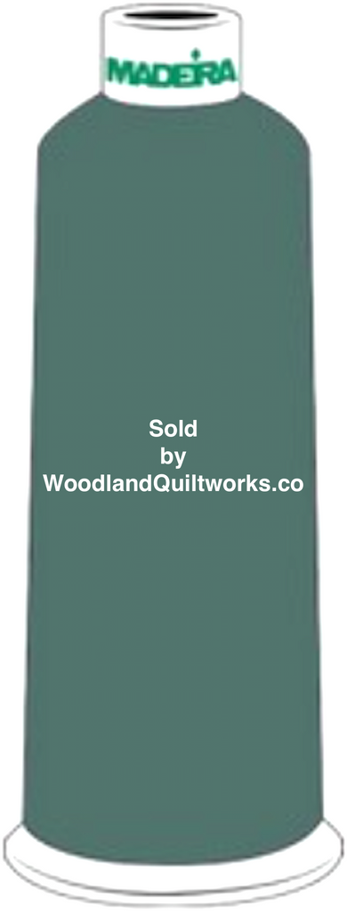 Madeira Burmilana Wool #12 Thread : Color 813-3652 Green - Woodland Quiltworks, LLC