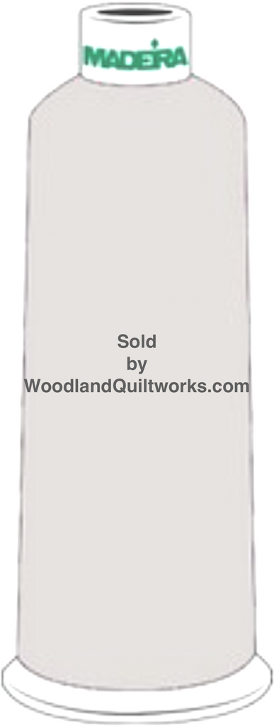 Madeira Burmilana Wool #12 Thread : Color 813-3686 Gray - Woodland Quiltworks, LLC