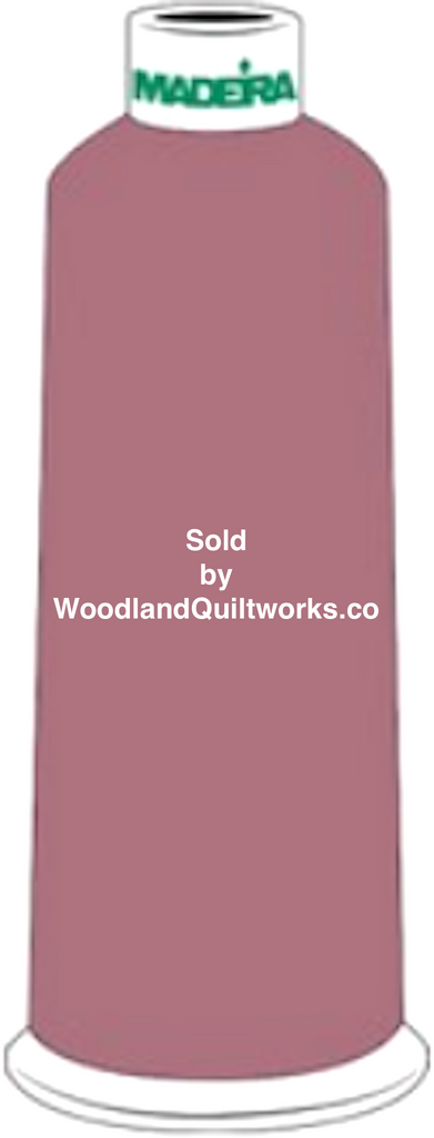 Madeira Burmilana Wool #12 Thread : Color 813-3716 Pink - Woodland Quiltworks, LLC