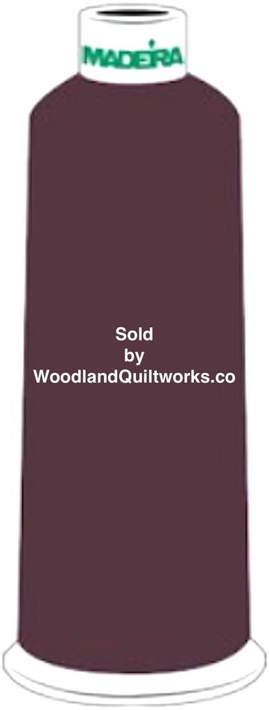 Madeira Burmilana Wool #12 Thread : Color 813-3717 Red Brown - Woodland Quiltworks, LLC