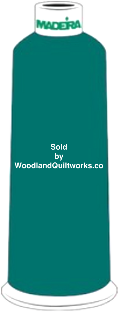 Madeira Burmilana Wool #12 Thread : Color 813-3785 Blue Green - Woodland Quiltworks, LLC