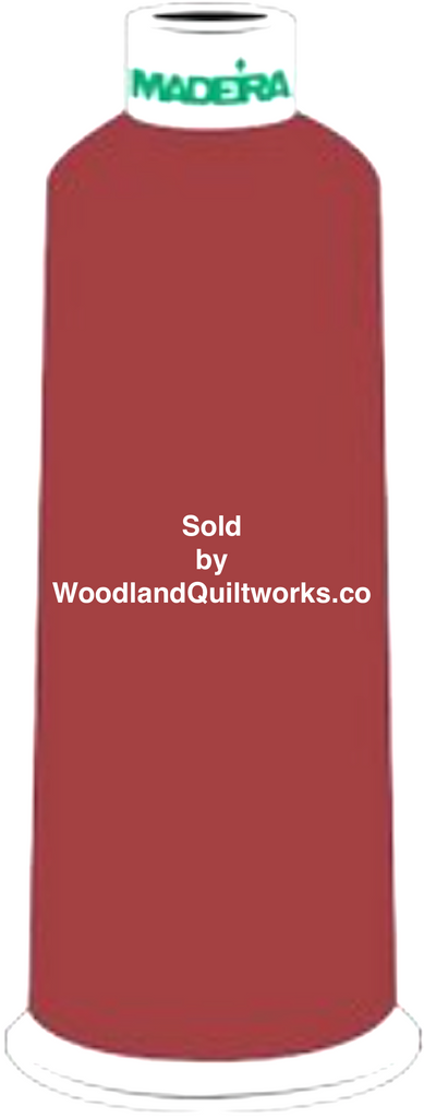 Madeira Burmilana Wool #12 Thread : Color 813-3805 Red Brown - Woodland Quiltworks, LLC