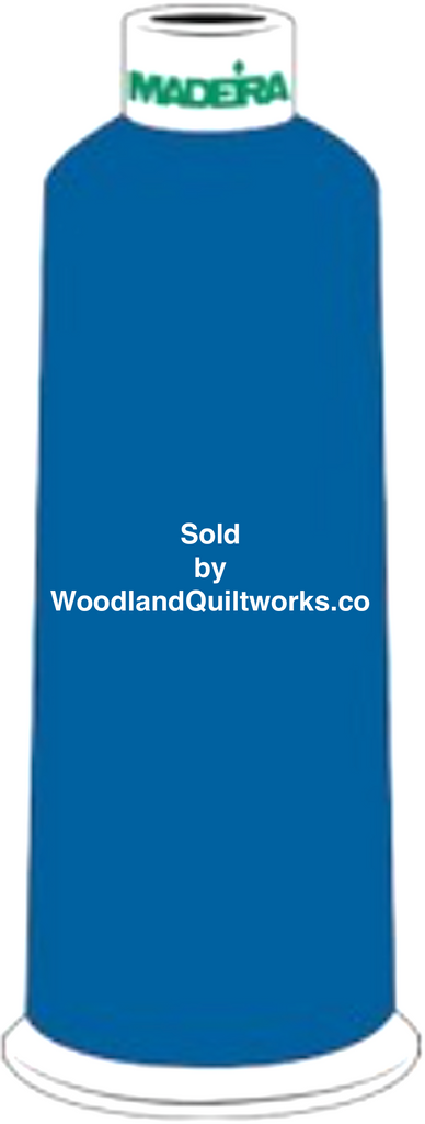 Madeira Burmilana Wool #12 Thread : Color 813-3810 Blue - Woodland Quiltworks, LLC