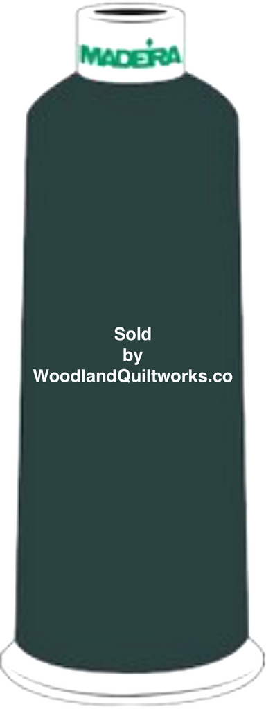 Madeira Burmilana Wool #12 Thread : Color 813-3820 Green - Woodland Quiltworks, LLC